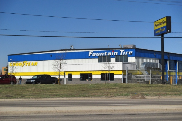 Fountain Tire Industrial Construction