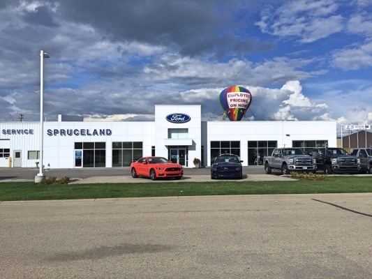 Dealership Construction in Alberta